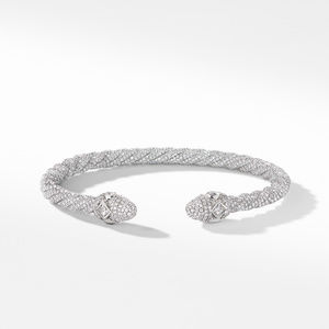 Renaissance Diamond Bracelet in 18K White Gold alternative image