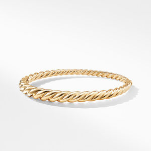 Pure Form® Cable Bracelet in 18K Gold, 6mm alternative image