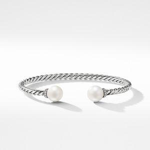 Solari Bracelet with Diamonds and Freshwater Pearl alternative image