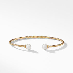 Solari Pearl Bracelet in 18K Yellow Gold with Diamonds alternative image