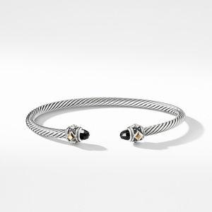 Renaissance Bracelet with Black Onyx and 18K Gold alternative image
