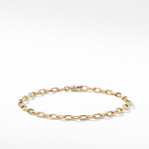 DY Madison Thin Bracelet in 18K Gold, 3mm