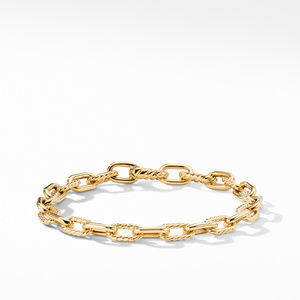 DY Madison Bold Bracelet in 18K Gold, 6mm