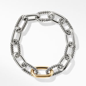 DY Madison Medium Bracelet with 18K Gold, 11mm alternative image
