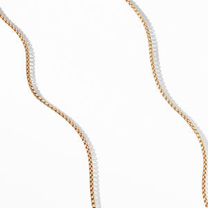 Box Chain Necklace in 18K Gold, 1.7mm alternative image