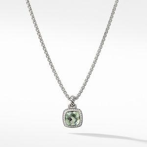 Albion® Pendant with Prasiolite and Diamonds