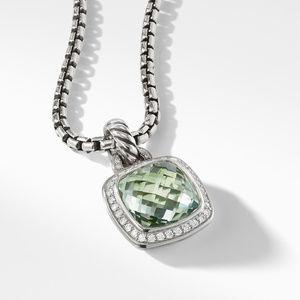 Albion® Pendant with Prasiolite and Diamonds alternative image