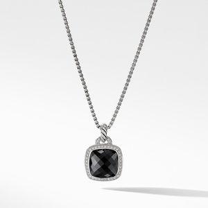 Pendant with Black Onyx and Diamonds