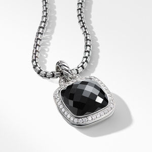 Pendant with Black Onyx and Diamonds alternative image
