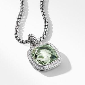 Pendant with Prasiolite and Diamonds alternative image