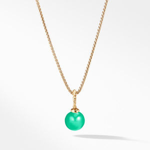 Pendant with Chrysoprase in 18K Gold