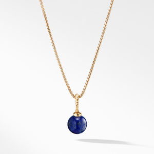 Pendant with Lapis Lazuli in 18K Gold