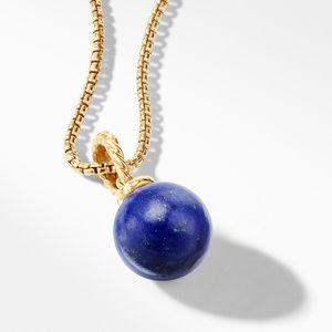 Pendant with Lapis Lazuli in 18K Gold alternative image