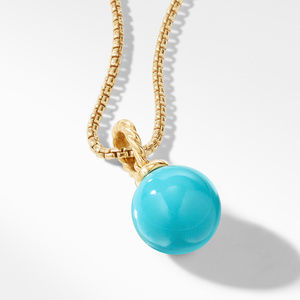 Pendnt with Turquoise in 18K Gold alternative image