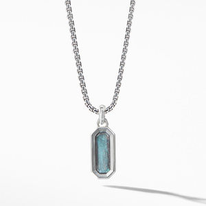 Emerald Cut Amulet with Labrodorite alternative image