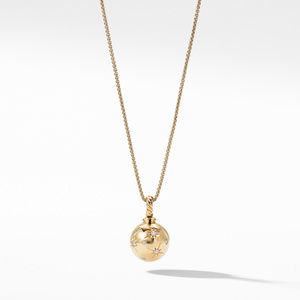 Solari Pendant with Diamonds in 18K Gold