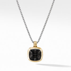 Albion® Pendant with 18K Gold and Black Onyx