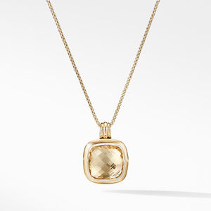 Albion® Pendant with 18K Gold and Champagne Citrine