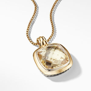 Albion® Pendant with 18K Gold and Champagne Citrine alternative image
