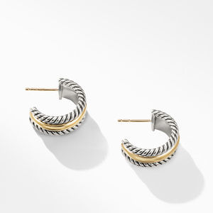 Hoop Earrings with Gold alternative image