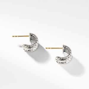 Cable Classics Collection® Earrings with Diamonds alternative image