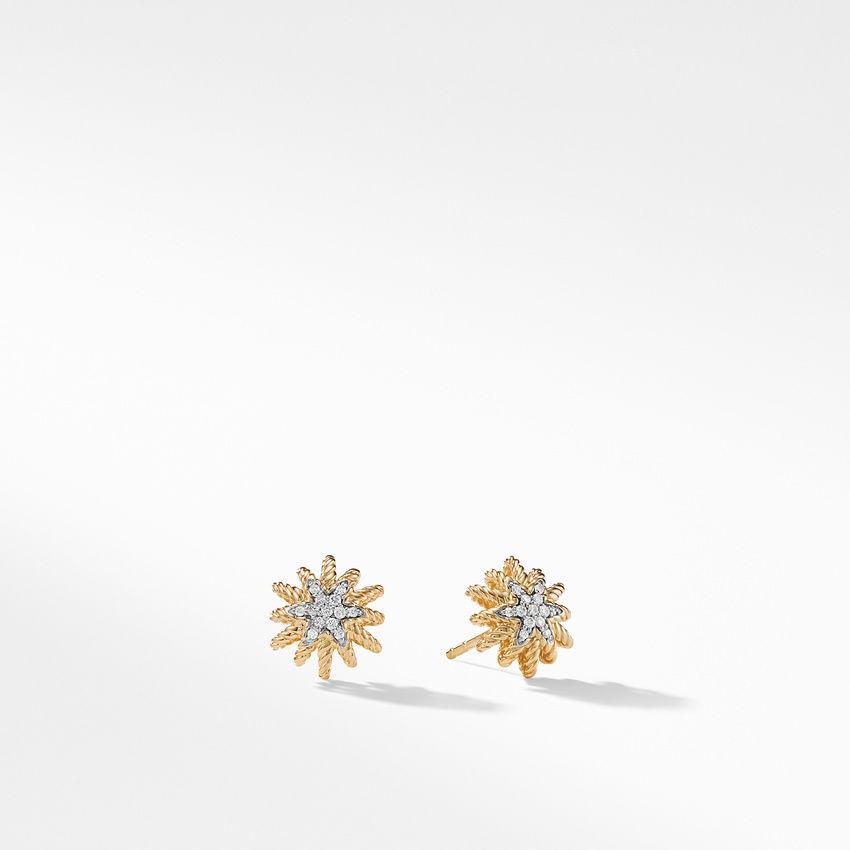 Earrings with Diamonds in 18K Gold