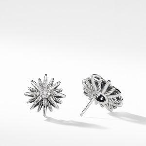Starburst Small Earrings with Diamonds alternative image