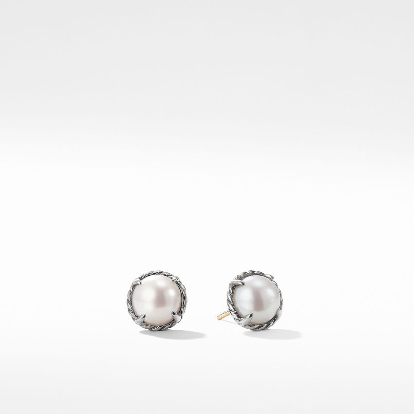 Chatelaine® Earrings with Pearl