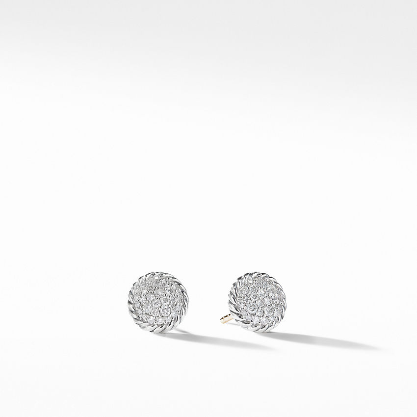 Chatelaine Earrings with Diamonds