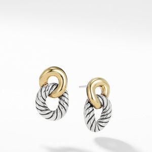 Drop  Earrings with 18K Gold