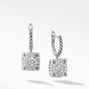 Drop Earrings with Diamonds