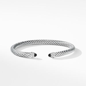 Cable Classics Collection® Bracelet with Black Onyx and Diamonds alternative image