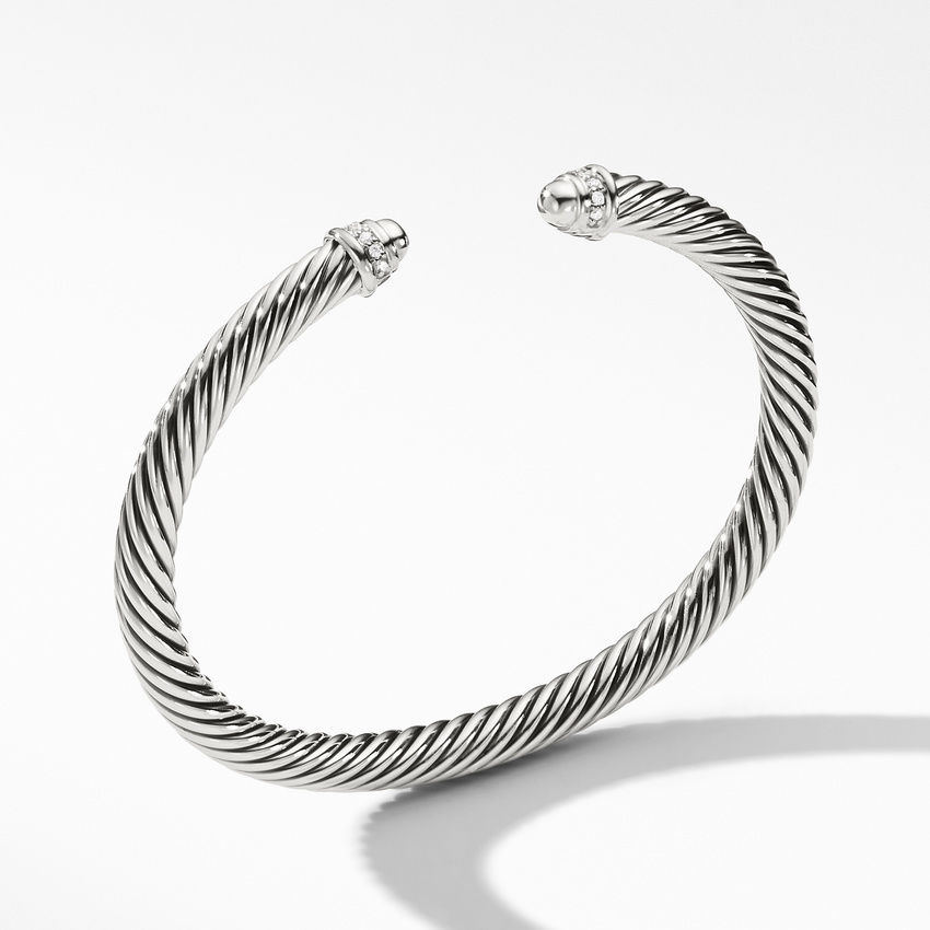 Cable Classics Collection® Bracelet with Diamonds
