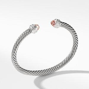 Bracelet with Morganite and Diamonds