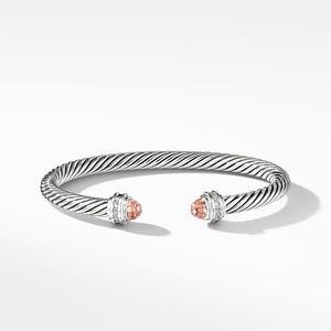 Bracelet with Morganite and Diamonds alternative image