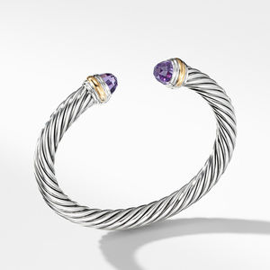 Bracelet with Amethyst and 14K Gold
