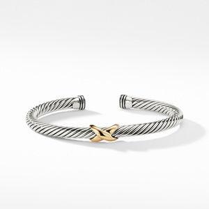 X Bracelet with Gold alternative image