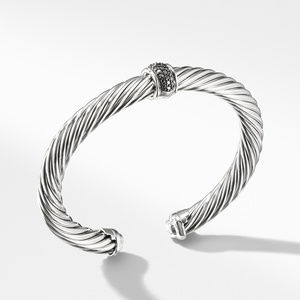 Bracelet with Black Diamonds
