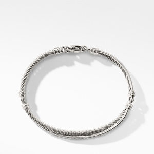 The Crossover Collection® Bracelet with Diamonds alternative image