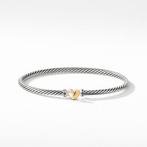 Cable Collectibles Heart Bracelet with Gold alternative image