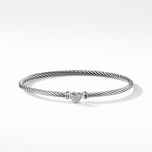 Cable Collectibles Heart Bracelet with Diamonds alternative image