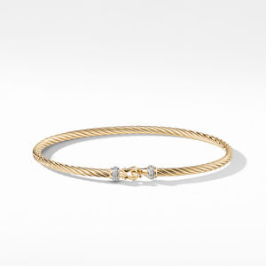 Cable Collectibles Buckle Bracelet in 18k Gold, alternative image