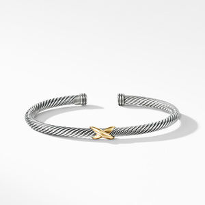 X Bracelet with Gold alternative image