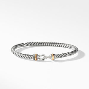 Cable Buckle Bracelet with Gold alternative image