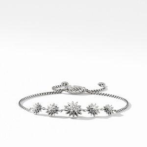Starburst Five-Station Bracelet with Diamonds