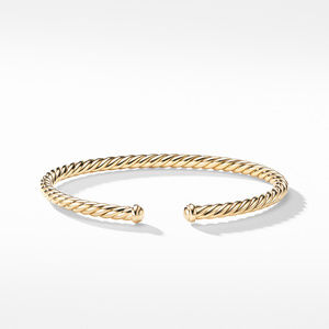 Petite Precious Cable Bracelet in Gold alternative image