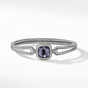 Albion Bracelet with Black Orchid and Diamonds alternative image