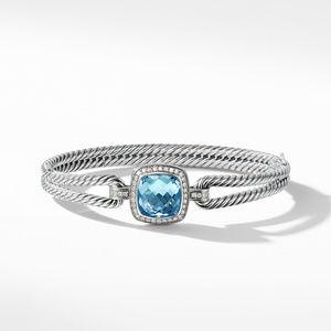 Bracelet with Blue Topaz and Diamonds alternative image