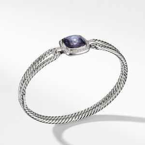 Bracelet with Hematineand and Diamonds