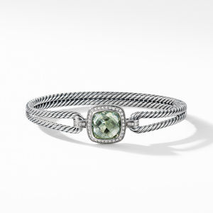Albion® Bracelet with Prasiolite and Diamonds alternative image